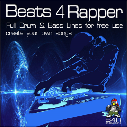 Beats 4 Rapper, Full Drum & Bass Lines for free use, create your own songs